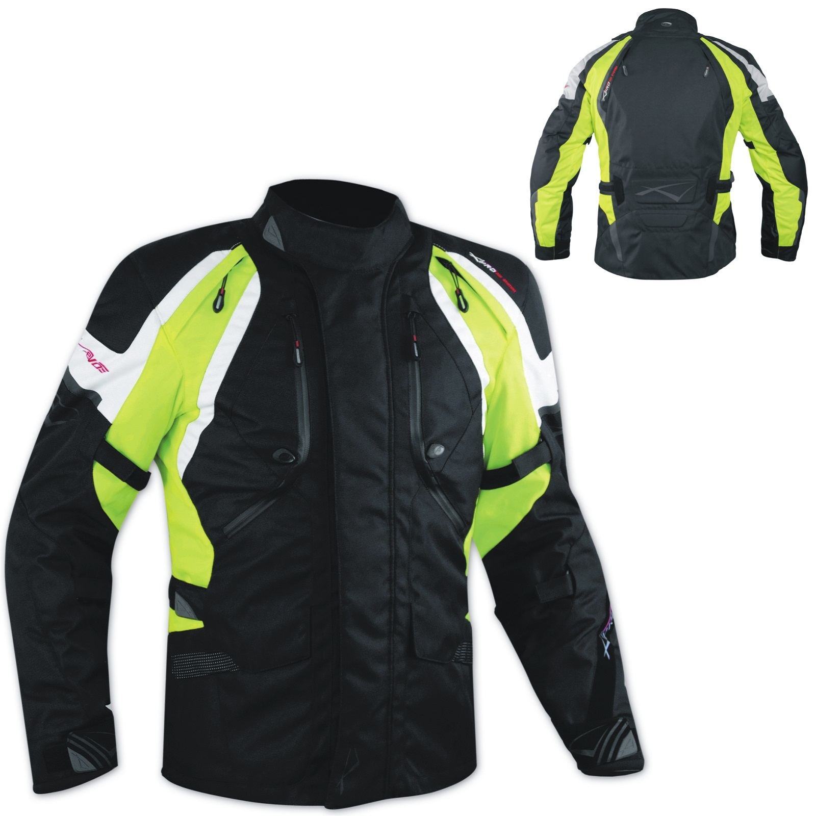 Cordura-Chaqueta-Moto-Enduro-Touring-Turismo-impermeable-Off-Road-4-estaciones
