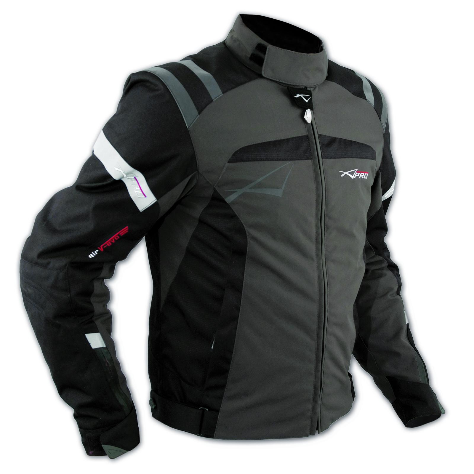 blouson textile motard sport protections doublure hiver moto veste touring brun ebay. Black Bedroom Furniture Sets. Home Design Ideas