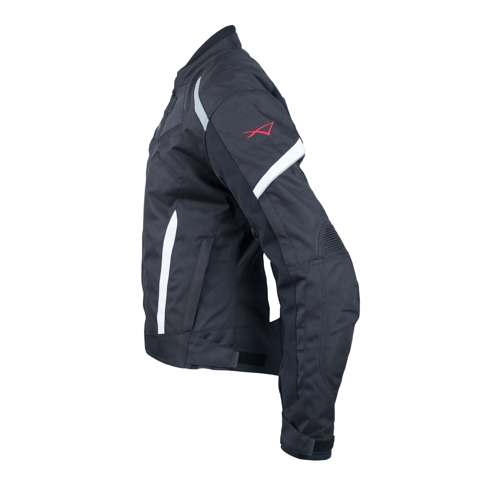 Moto Blouson Textile Femme Protections CE Sport Voyage Noir L