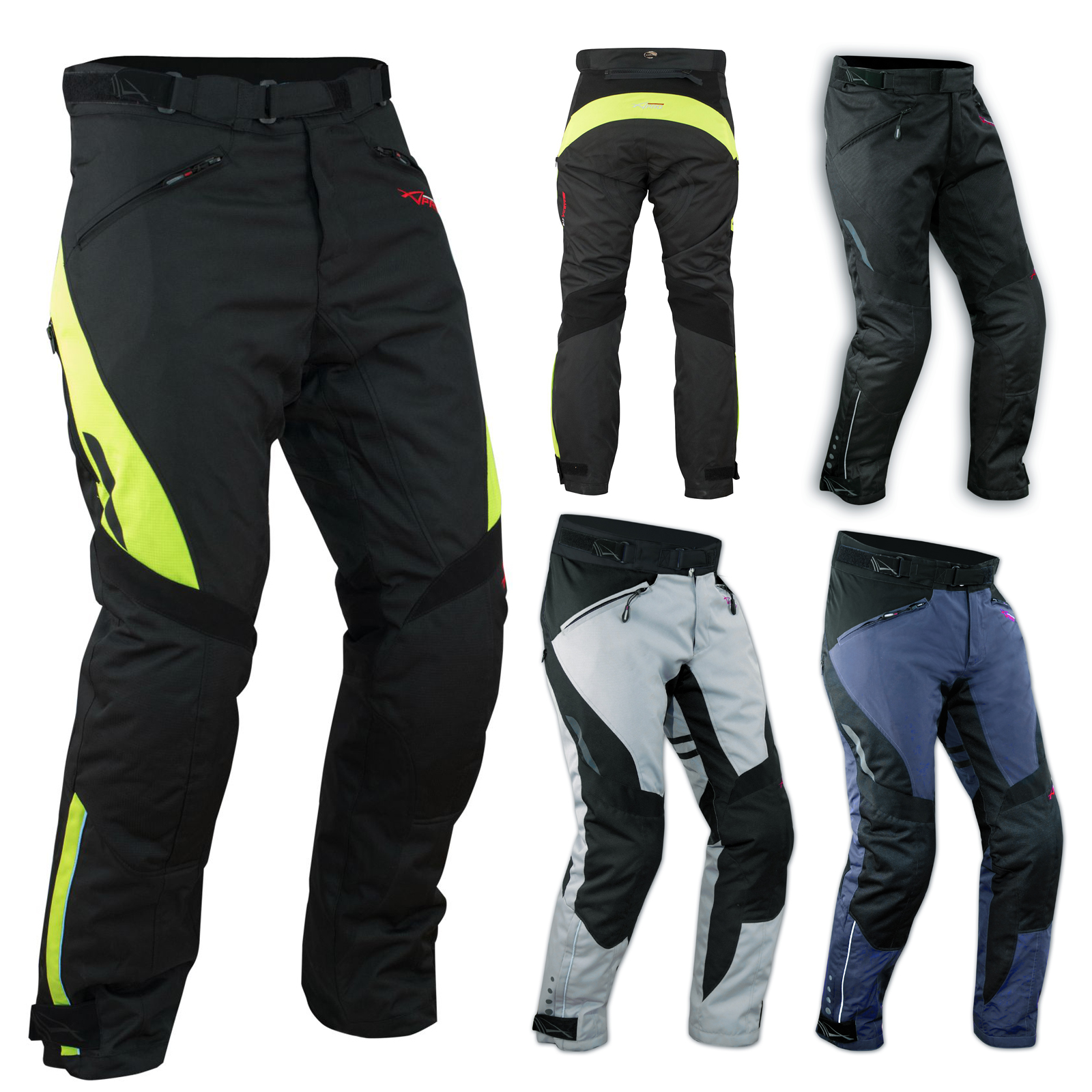 pantalon impermeable homme protections ce thermique motard reflechissant moto ebay. Black Bedroom Furniture Sets. Home Design Ideas