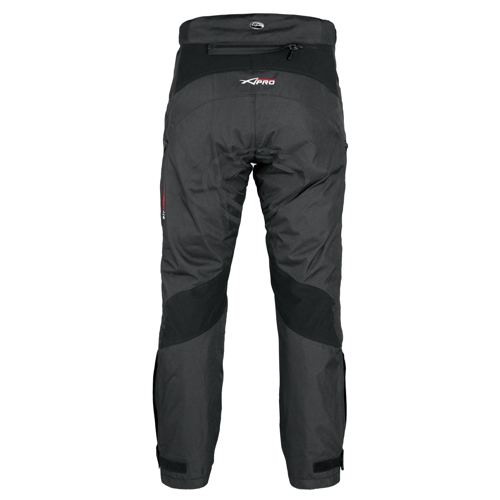 Pantalon-Impermeable-Homme-Protections-CE-Thermique-Motard-Reflechissant-Moto miniature 5