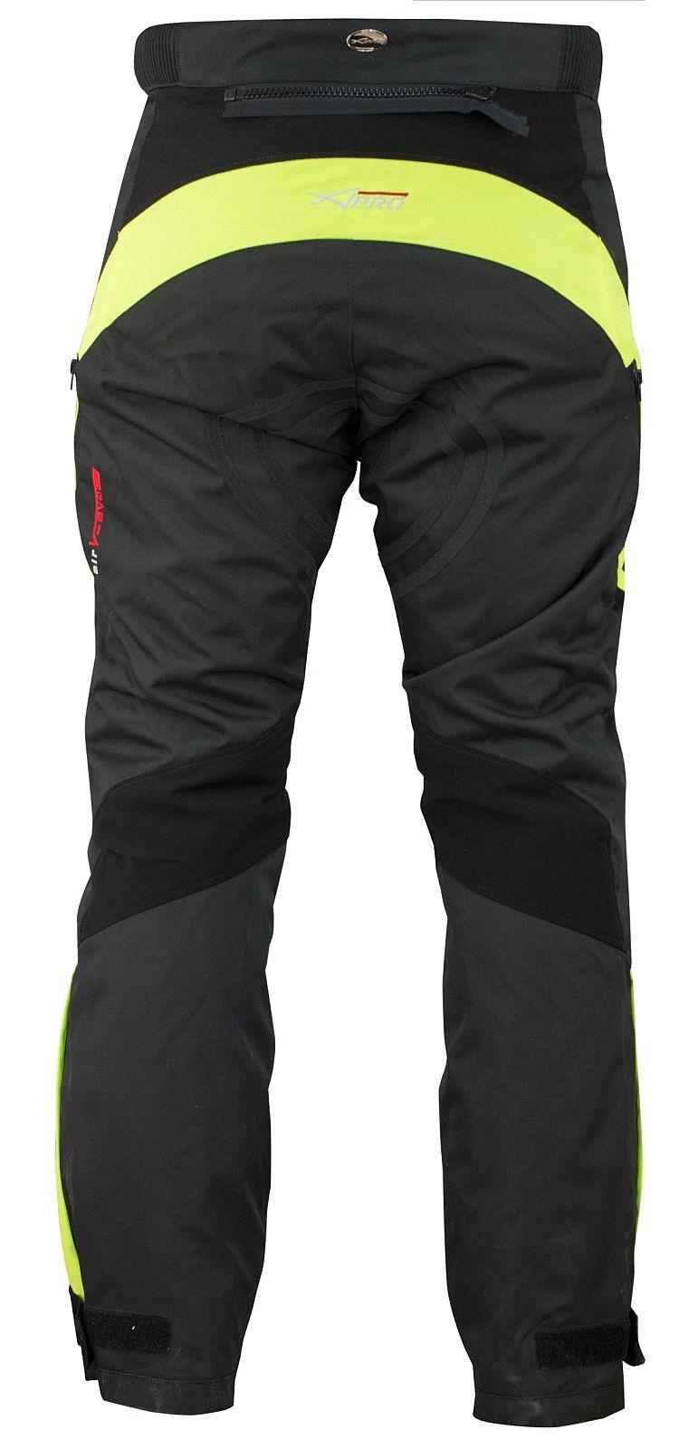 Pantaloni-Donna-Impermeabile-Moto-Imbottitura-Termica-Traspirante-Fluo miniatura 7