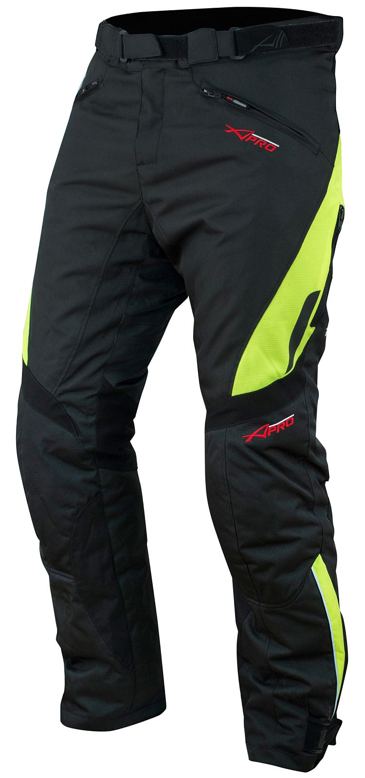 Pantaloni-Donna-Impermeabile-Moto-Imbottitura-Termica-Traspirante-Fluo miniatura 6