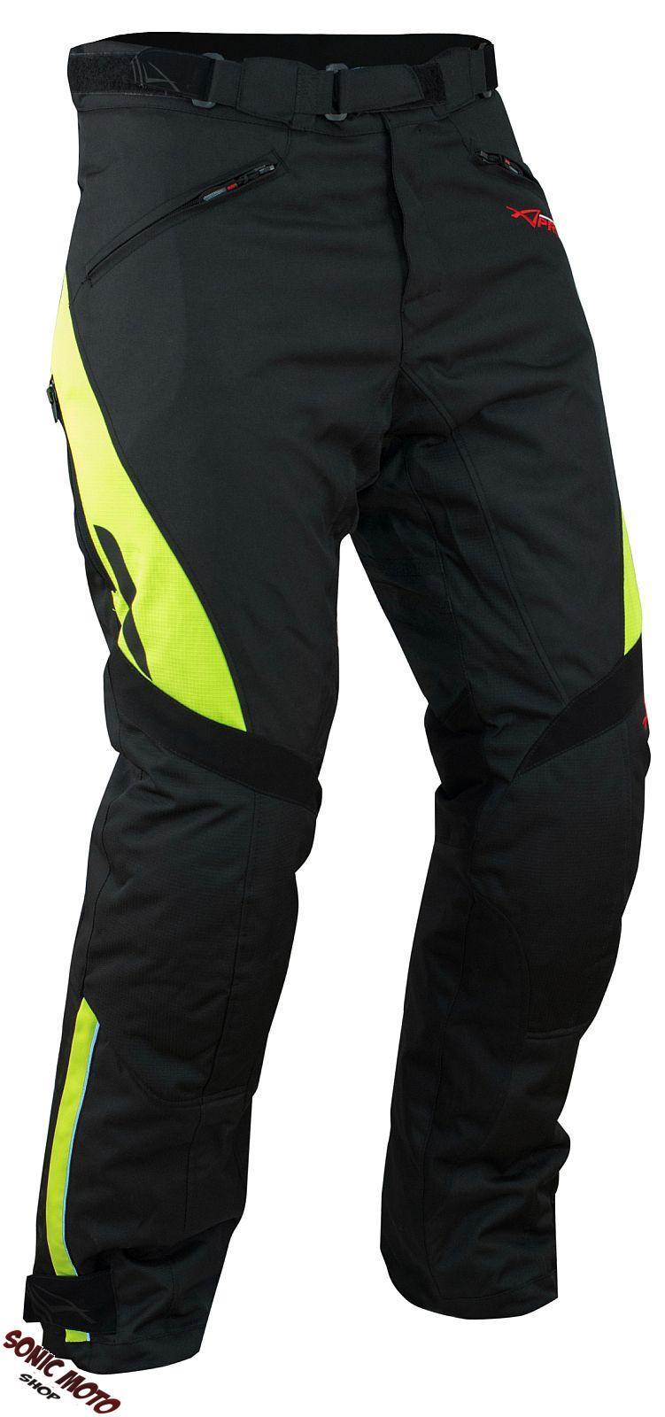 Pantalon-Impermeable-Homme-Protections-CE-Thermique-Motard-Moto-Fluo