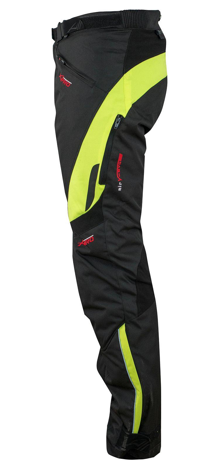 Pantaloni-Donna-Impermeabile-Moto-Imbottitura-Termica-Traspirante-Fluo miniatura 8