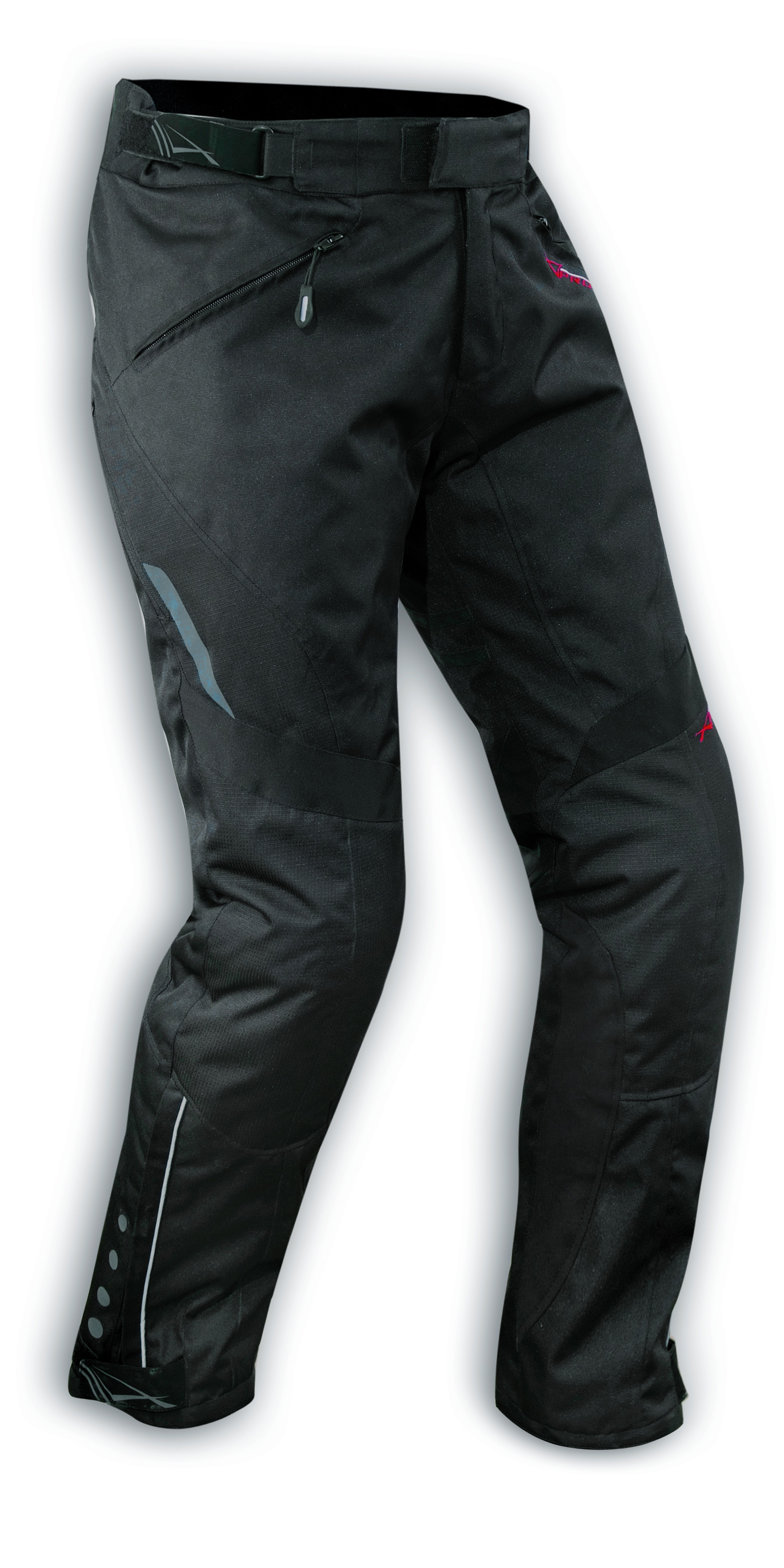 Pantalones-Mujer-Termico-Moto-Impermeable-Pierna-Larga-Traspirable-Negro