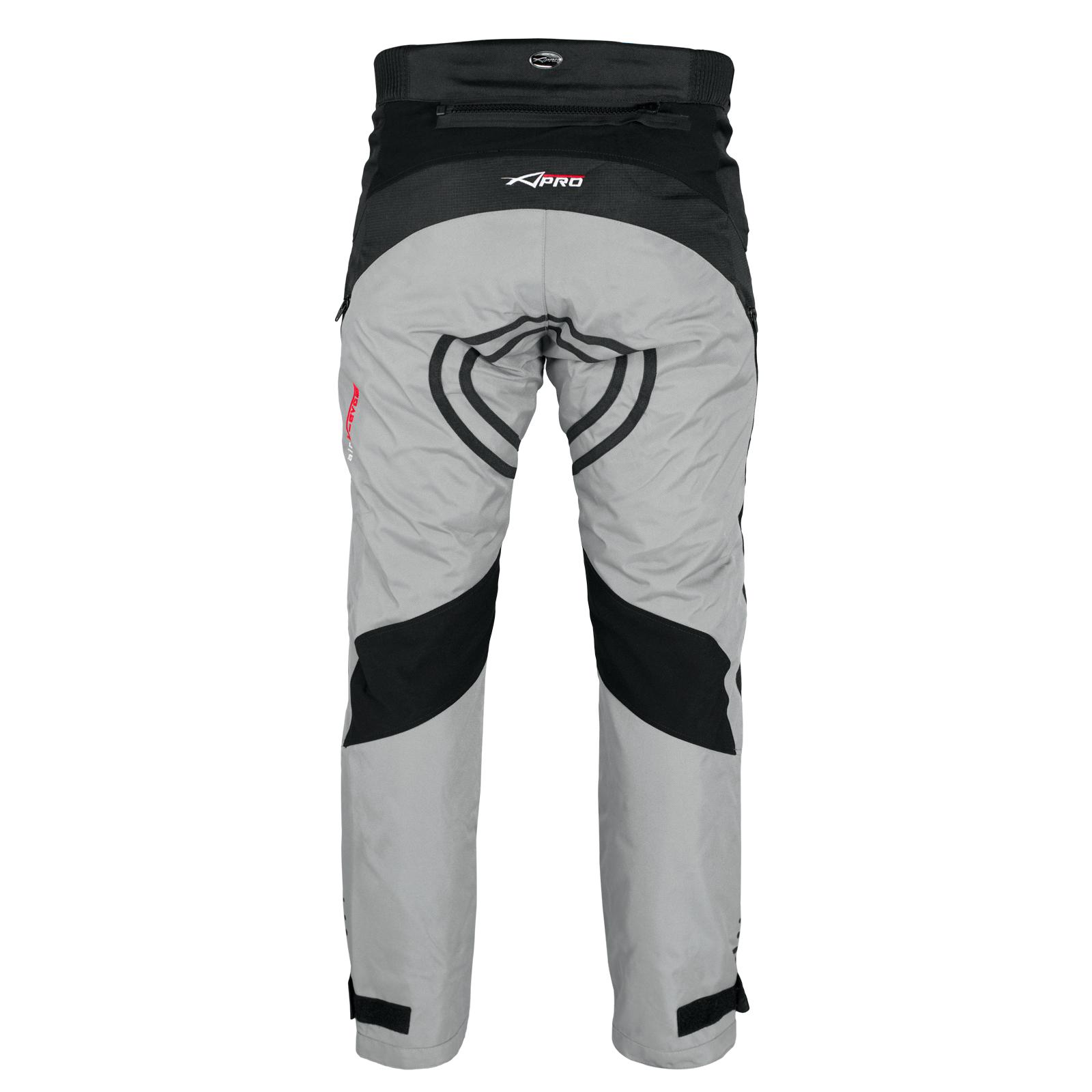 Pantalon-Impermeable-Homme-Protections-CE-Thermique-Motard-Reflechissant-Moto miniature 14