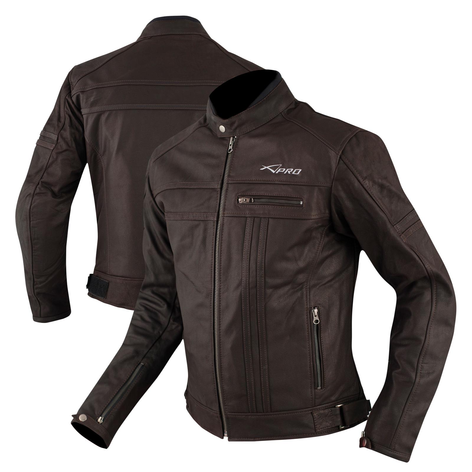 Chaqueta-Cuero-Termica-Extraible-Calidad-Motorista-Protecciones-CE