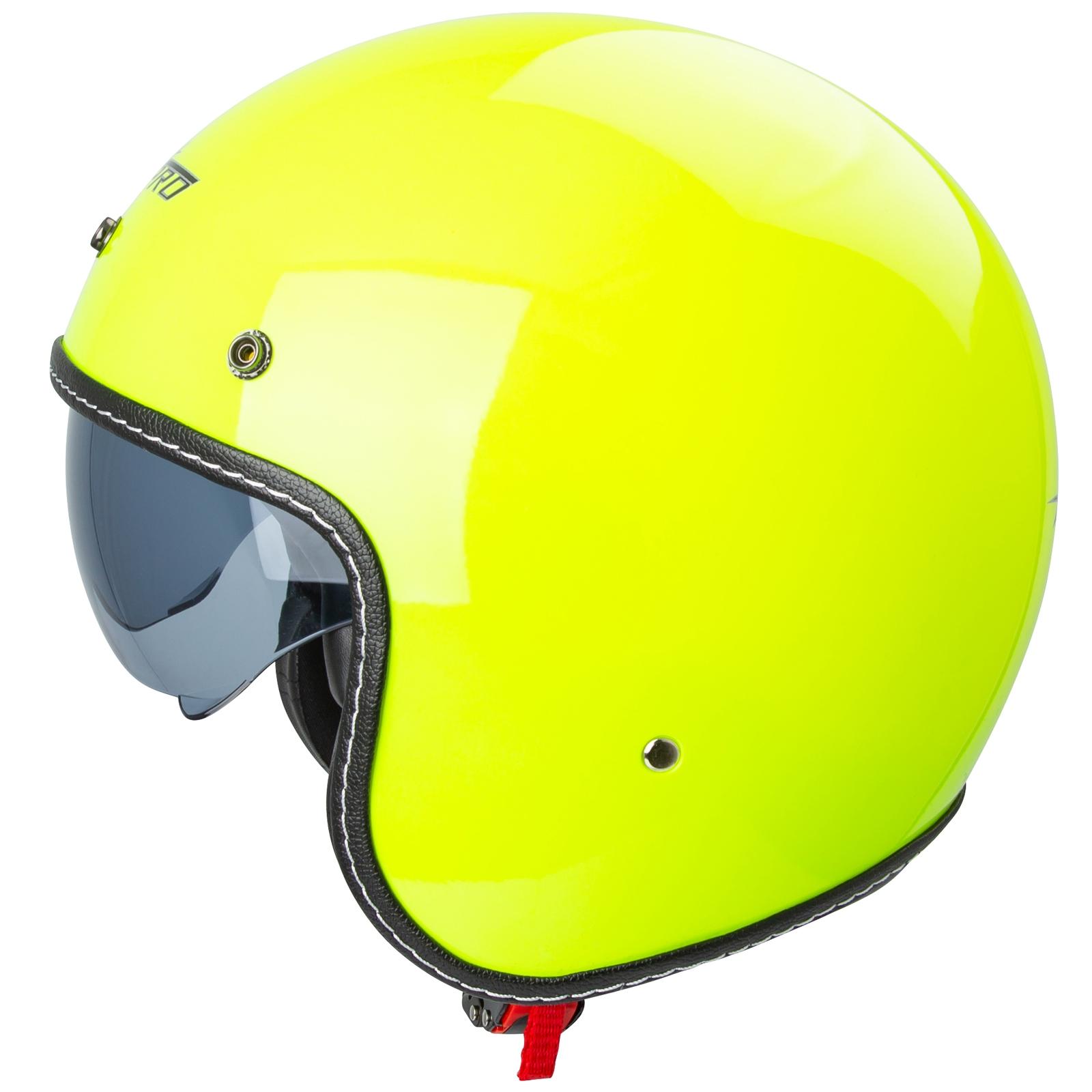 Casco-Moto-Jet-Cafe-Racer-Omologato-ECE-22-05-Parasole-scooter miniatuur 16