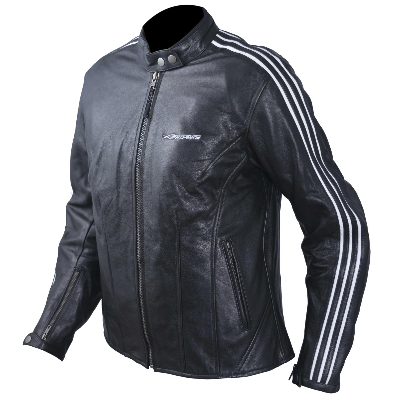 blouson cuir femme moto protections ce veste vintage thermique blanc ebay. Black Bedroom Furniture Sets. Home Design Ideas