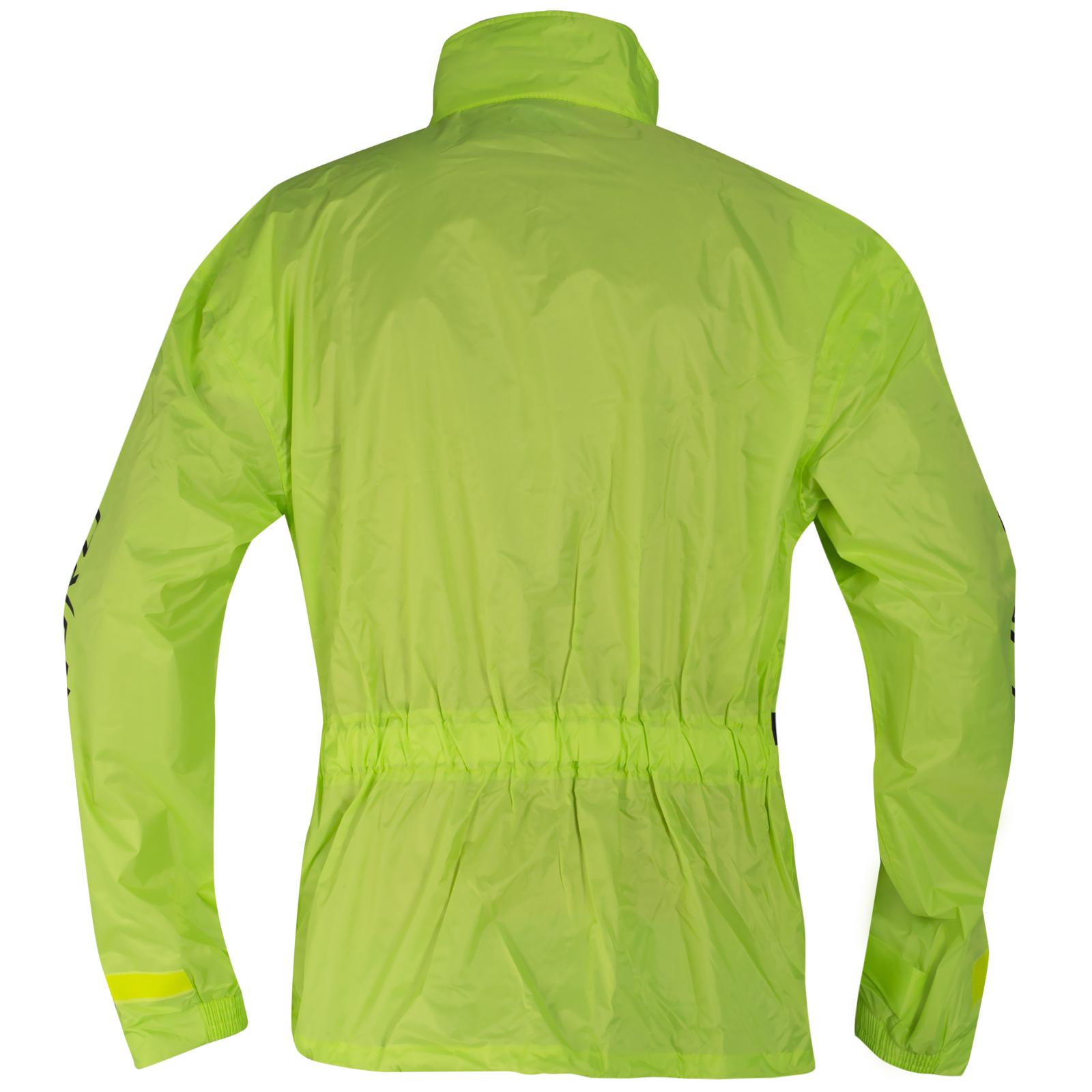Tuta-Impermeabile-Giacca-Pantaloni-Combinazione-Antipioggia-alta-Visibilita miniatura 6