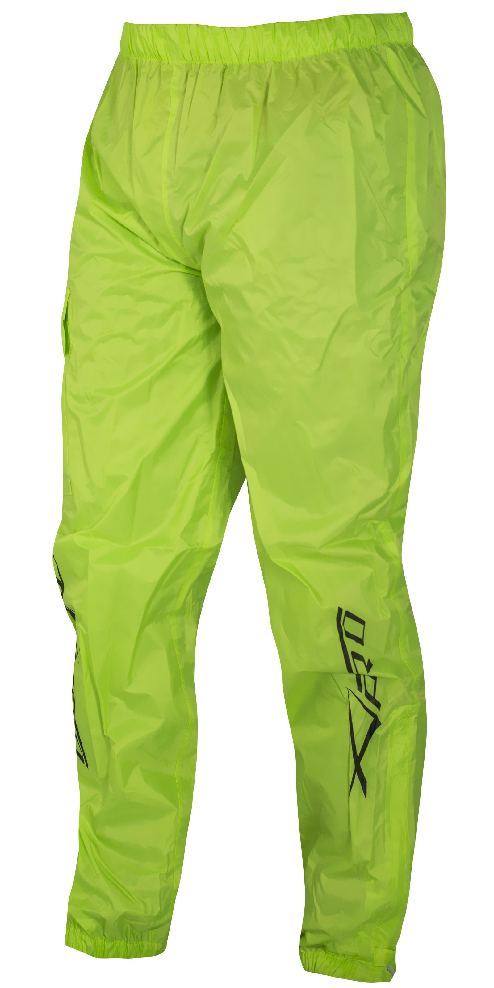 Tuta-Impermeabile-Giacca-Pantaloni-Combinazione-Antipioggia-alta-Visibilita miniatura 7