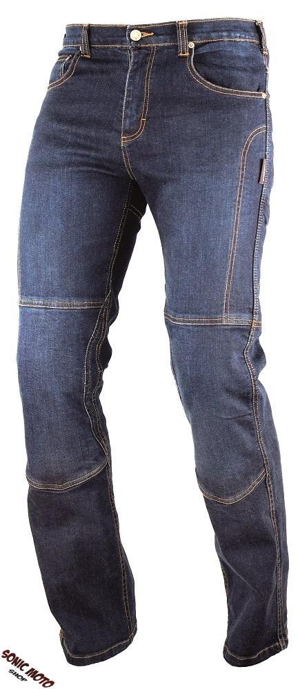 Jeans-Pantaloni-Denim-Moto-Protezioni-Omologate-Inserti-KevlarRinforzati-Blu