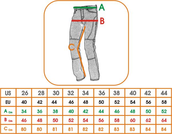 Jeans-Pantalon-Motard-Moto-Noir-Femme-Protections-Ce-Inserts-100-Coton miniature 4