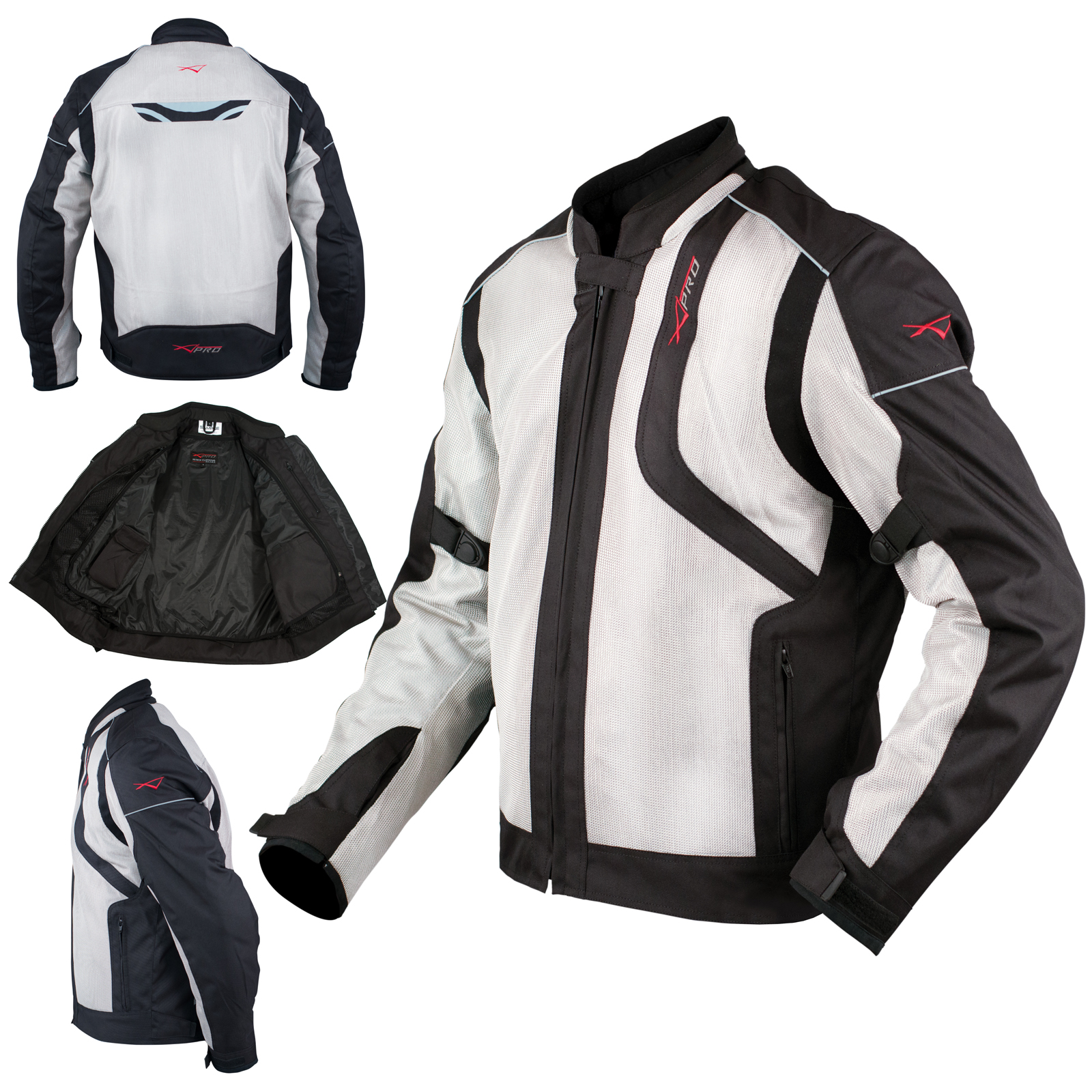 Chaqueta-Moto-Sport-Impermeable-Ventilada-Protecciones-CE-Scooter