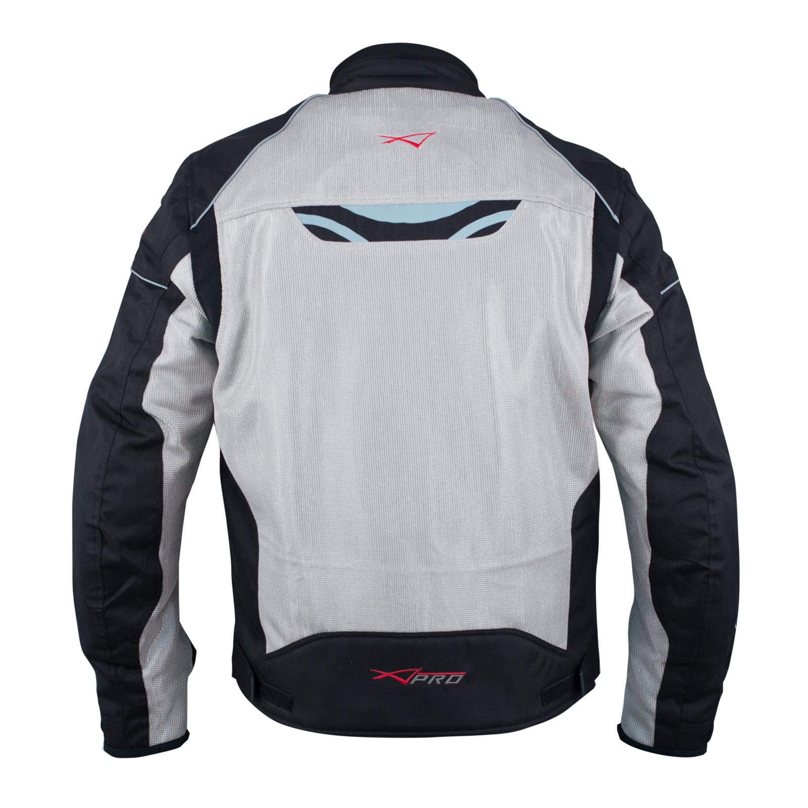 7e5fceb3c62 Chaqueta Moto Sport Transpirable Ventilada Protecciones CE Verano Gris