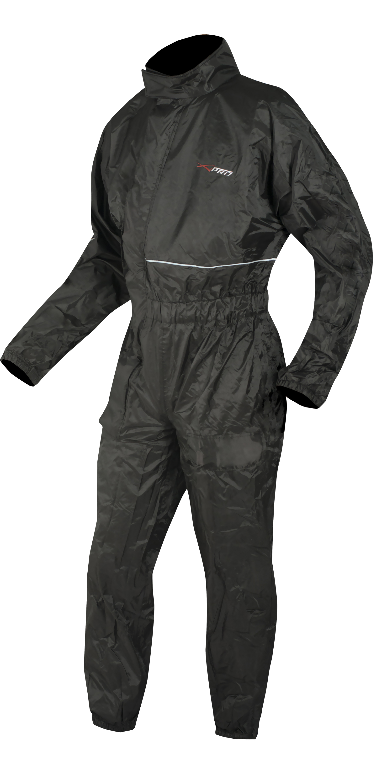 Entire-jumpsuit-Anti-Rain-Water-impermeablie-Foldable-Pouch-Motorcycle-Scooter thumbnail 5