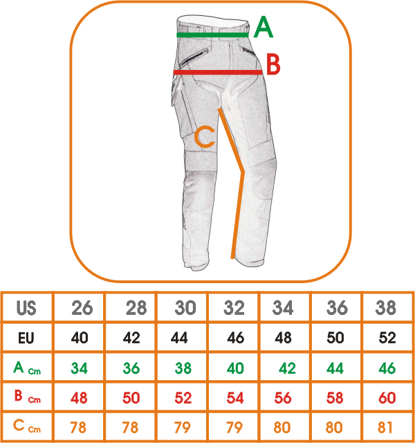 Pantaloni-Donna-Moto-Cordura-Lady-Protezioni-CE-Sfoderabile-Impermeabile miniatuur 5