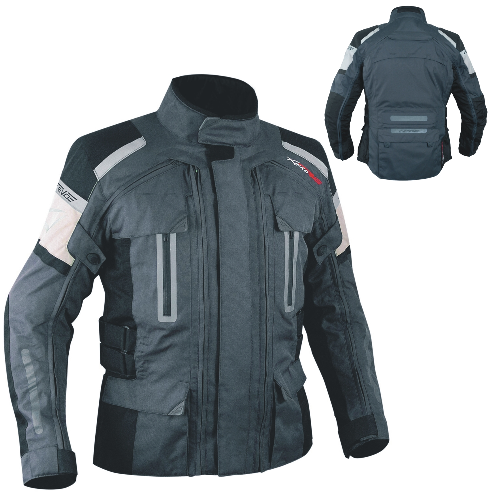 4-Capas-4-Seasons-chaqueta-desmontable-termica-impermeable-Moto-BMW