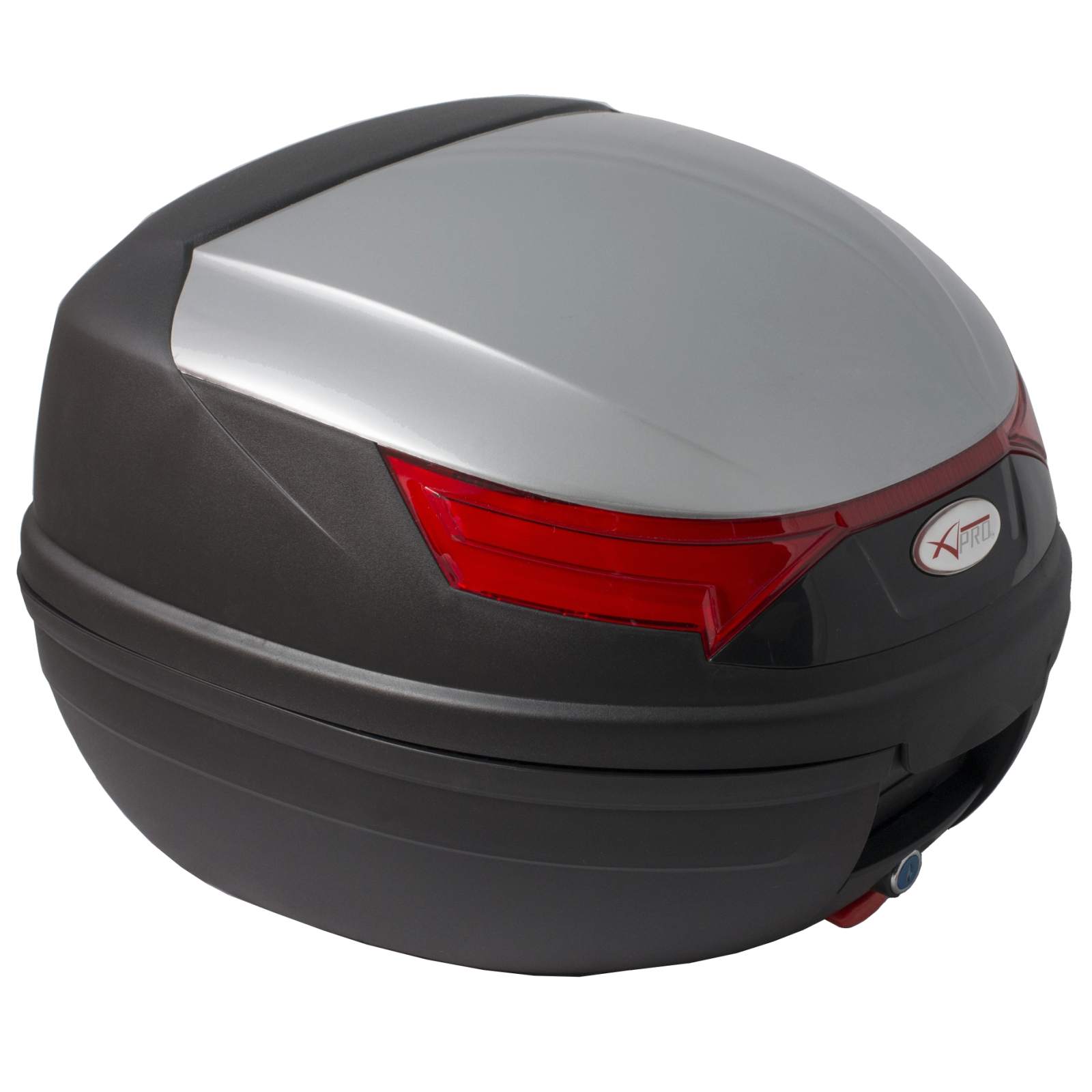 motorcycle top box case luggage 32 lt two helmets quick. Black Bedroom Furniture Sets. Home Design Ideas