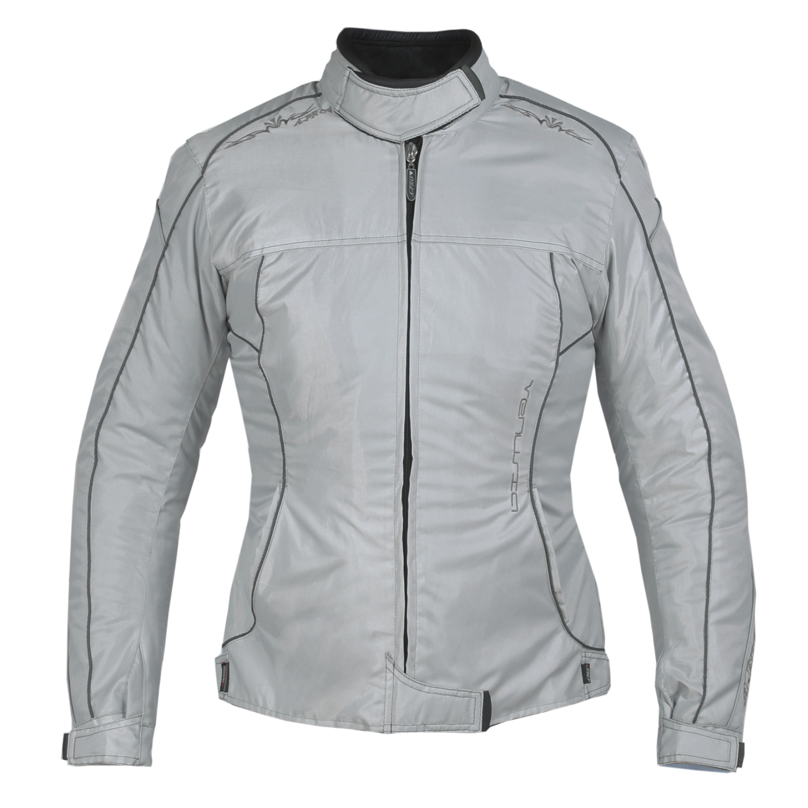 Giacca-Lady-Moto-Donna-Tessuto-Protezioni-CE-Termico-Sfoderabile-Scooter
