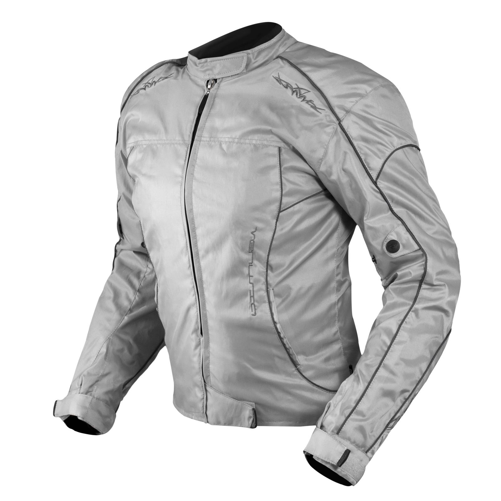 Giacca-Lady-Moto-Donna-Tessuto-Protezioni-CE-Termico-Sfoderabile-Scooter miniatura 15