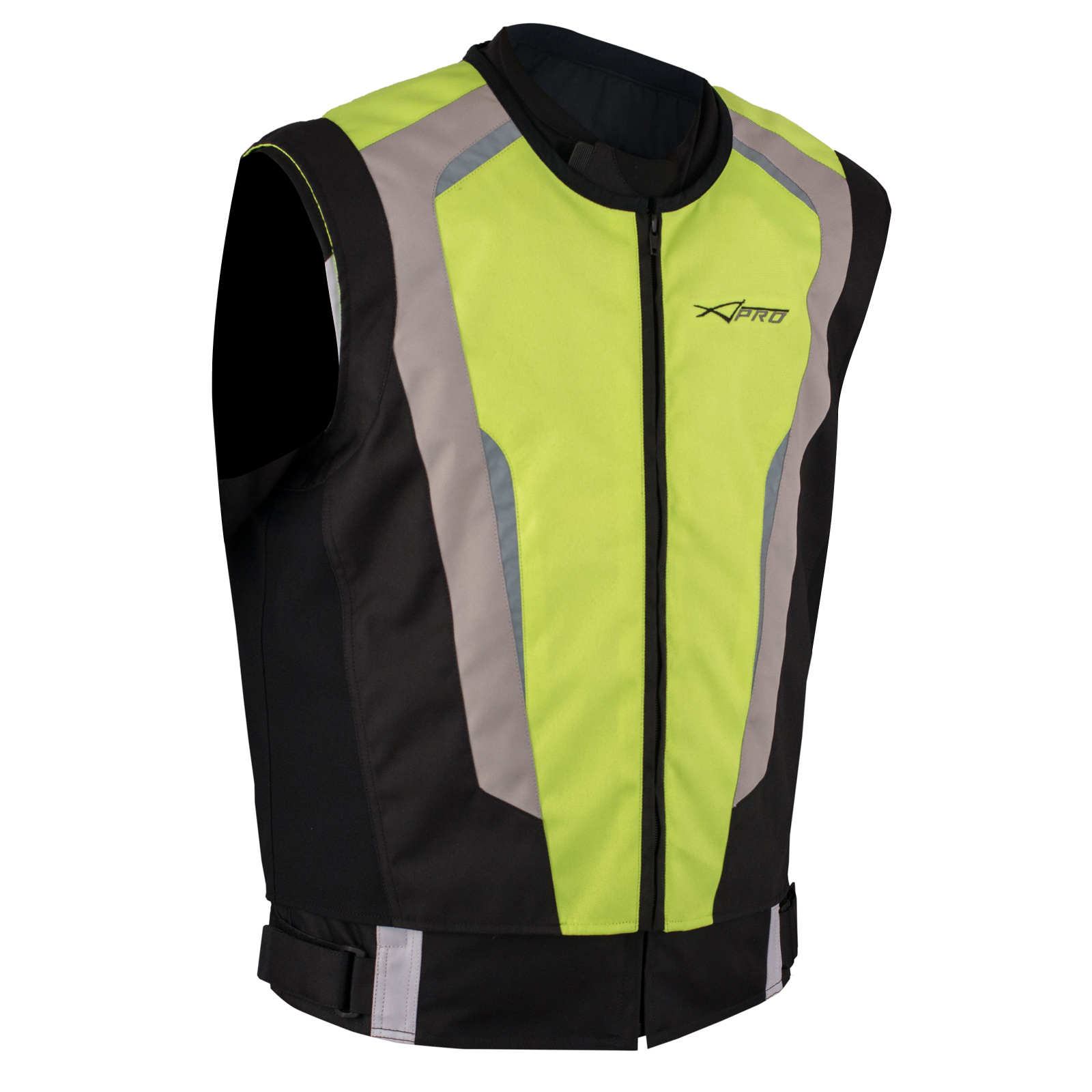 gilet securit moto v lo haute visibilit s curt vest auto fluo m ebay. Black Bedroom Furniture Sets. Home Design Ideas