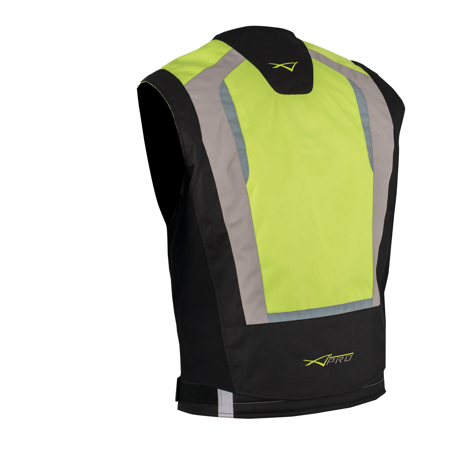 gilet securit moto v lo haute visibilit s curt vest auto fluo xl ebay. Black Bedroom Furniture Sets. Home Design Ideas