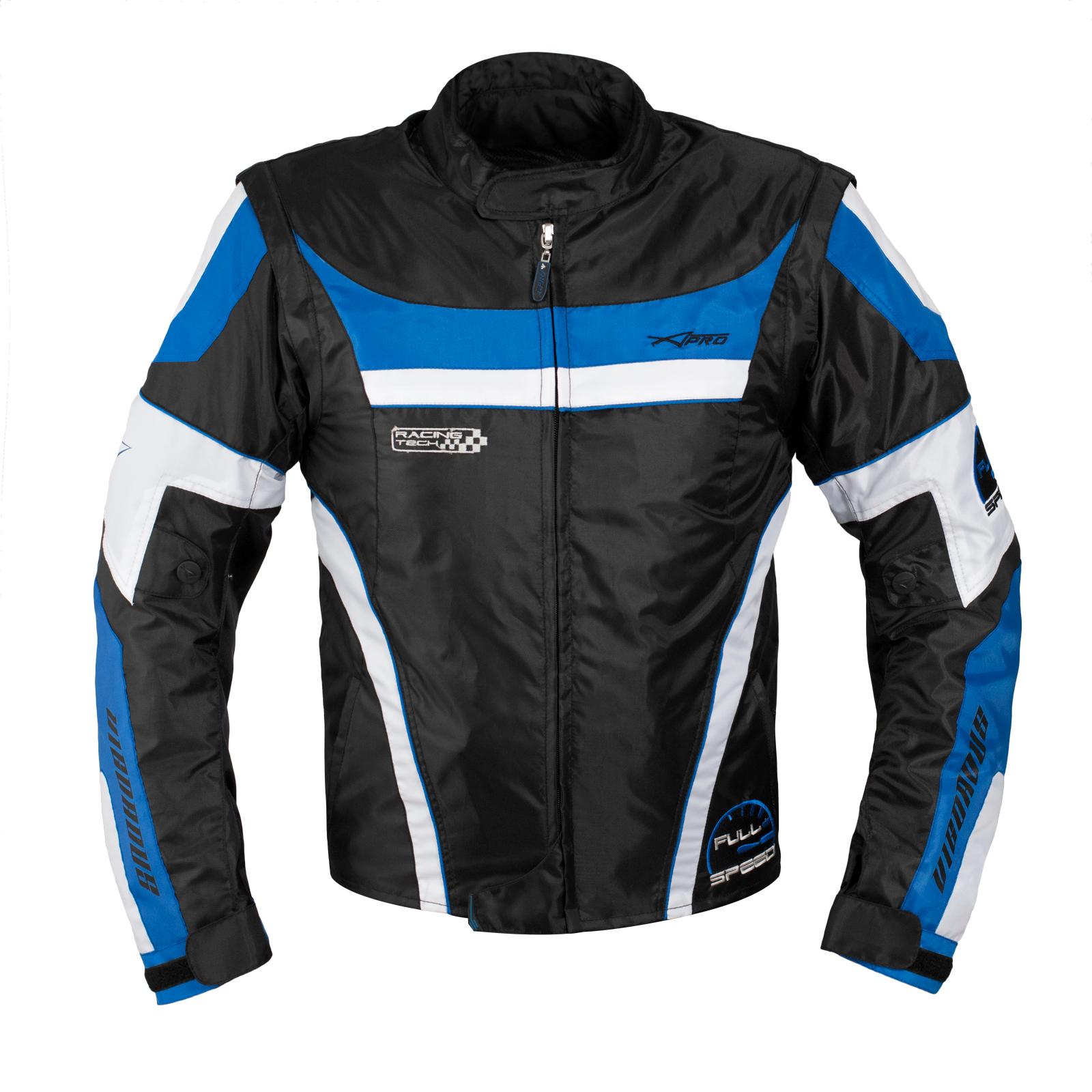 Mens Waterproof Textile Winter Motorcycle Motorbike Nylon